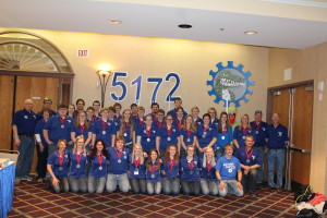 5172 Gator team following the Duluth Northern Lights Competition.